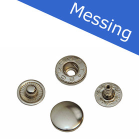 MESSING Drukker nikkelkleurig 12 mm, type VT5 (ca. 25 stuks)