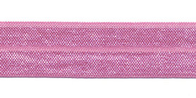 Roze #069 elastisch biaisband 20 mm (ca. 25 m)
