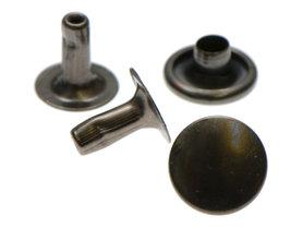 Holniet oud zilverkleurig staal 9 mm (ca. 1000 sets)