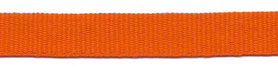 Oranje grosgrainband 10 mm (ca. 25 m)