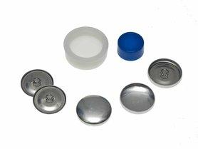 Stofknoop DIY 23 mm (ca. 144 stuks)