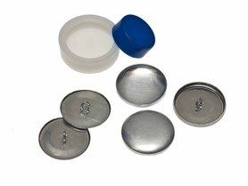 Stofknoop DIY 29 mm (ca. 144 stuks)