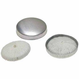 Stofknoop opnaaibaar 22 mm (ca. 144 stuks)