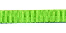 Tassenband 13 mm gifgroen (50 m)