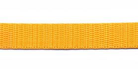 Tassenband 13 mm geel (50 m)