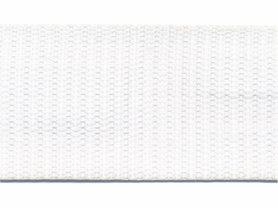 Tassenband 38 mm wit (ca. 50 m)