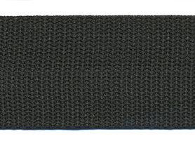 Tassenband 38 mm zwart (ca. 50 m)