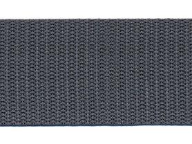 Tassenband 38 mm antraciet (ca. 50 m)