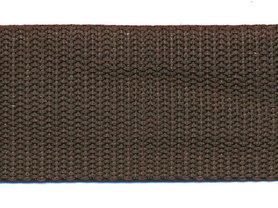 Tassenband 38 mm bruin (ca. 50 m)