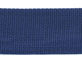 Tassenband 38 mm donker blauw (ca. 50 m)