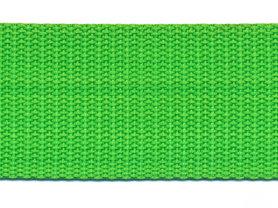Tassenband 38 mm gifgroen (ca. 50 m)