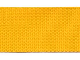 Tassenband 38 mm geel (ca. 50 m)