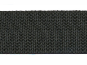 Tassenband 30 mm zwart (50 m)