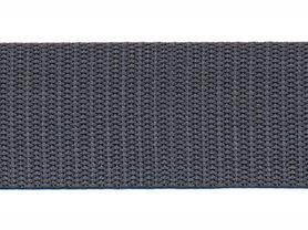 Tassenband 30 mm antraciet (50 m)