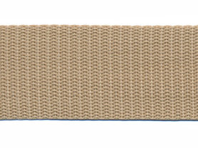 Tassenband 30 mm zand (50 m)