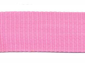 Tassenband 30 mm roze (50 m)