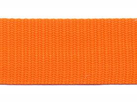 Tassenband 30 mm oranje (50 m)