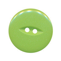 Knoop groen met 2 gaten 25 mm (ca. 25 stuks)