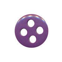 Knoop paars met 4 grote gaten 19 mm (ca. 25 stuks)