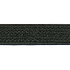 Zwart elastiek ca. 20 mm (25 m)