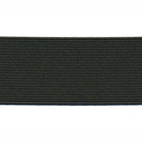Zwart elastiek ca. 30 mm (25 m)