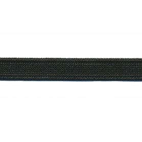 Zwart elastiek ca. 10 mm (150 m)