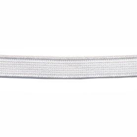 Wit elastiek ca. 10 mm (150 m)