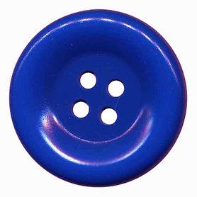 Grote knoop kobalt blauw 50 mm (10 stuks)