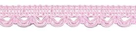 Sierband met lus-/schulprandje licht roze 12 mm (ca. 32 meter)