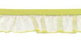 Citroen geel roezel elastiek 19 mm (ca. 10 meter)