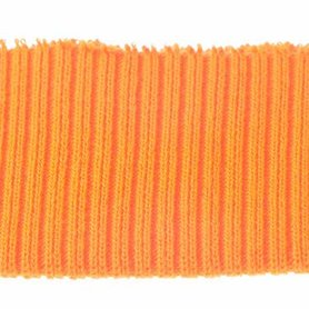Boord licht oranje effen ca. 30 cm (6 stuks)
