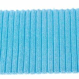 Boord licht blauw effen ca. 30 cm (6 stuks)