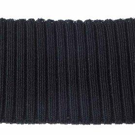 Boord zwart effen ca. 30 cm (6 stuks)