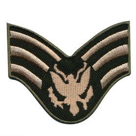Opstrijkbare applicatie army wing met adelaar (5 stuks)