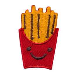 Opstrijkbare applicatie franse frietjes (5 stuks)