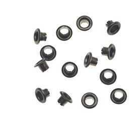 Nestels 4 mm (maat #261) oud zilverkleurig staal (ca. 1.000 stuks)