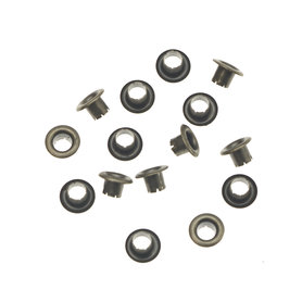 Nestels 4 mm (maat #261) bronskleurig staal (ca. 1.000 stuks)