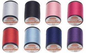 Garen 8 kleuren (12 klossen van 500 m)