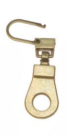 Hersluitbare ritstrekker goudkleurig (25 stuks)
