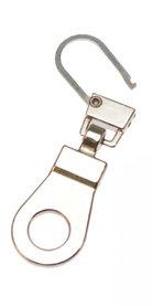 Hersluitbare ritstrekker zilverkleurig (25 stuks)