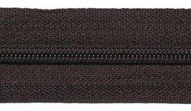 Nylon rits zwart #580 maat 3 (ca. 5 m)