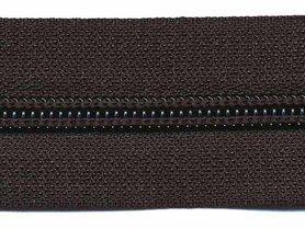 Nylon rits zwart #580 maat 5 (ca. 5 m)