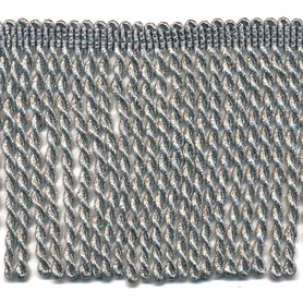 Franjeband gedraaid zilver lurex ca. 100 mm (ca. 25 meter)