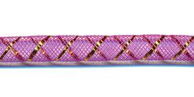 Decoslang 8 mm paars (ca. 27 meter)