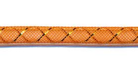 Decoslang 8 mm oranje (ca. 27 meter)