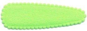 Haarkniphoesje NEON groen vilt 5 cm (ca. 100 stuks)