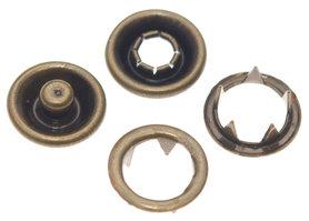 Babydrukker bronskleurig 9 mm, type #122 (ca. 100 stuks)