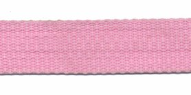 Tassenband 20 mm roze (50 m)