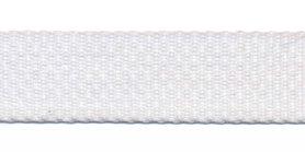 Tassenband 20 mm wit (50 m)