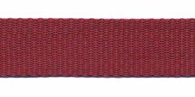 Tassenband 20 mm bordeaux (50 m)